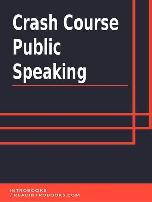 cover image of Crash Course Public Speaking